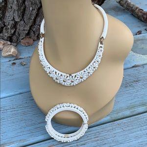 Fun Vintage Monet Necklace Bracelet Shabby Chic
